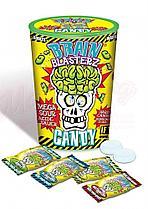 Самые кислые леденцы Brain Blasterz Dark Fruit (желтая банка)
