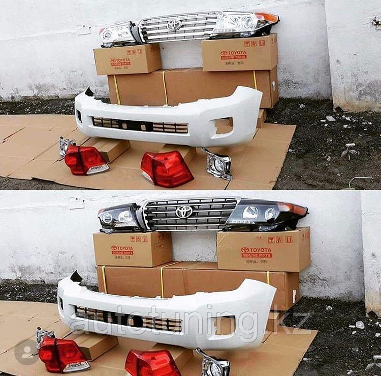 Комплект рестайлинга на Land Cruiser 200 2007-2011 г. под 2012-2015 г.в.
