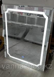 Зеркала с подсветкой для ванных комнат (LED) размер 100 см на 80 см.