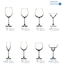 Набор бокалов для вина Pasabahce Enoteca 6 шт. 420 мл (44728/6), фото 3