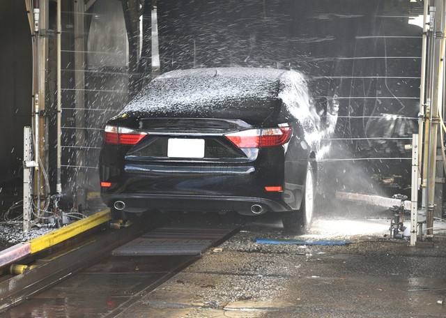 использование оборудования для автомоек
