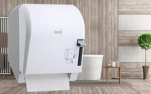 Диспенсер бумажных полотенец Levercut Roll (белый), фото 2