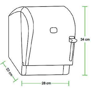 Диспенсер бумажных полотенец Levercut Roll (черный), фото 2