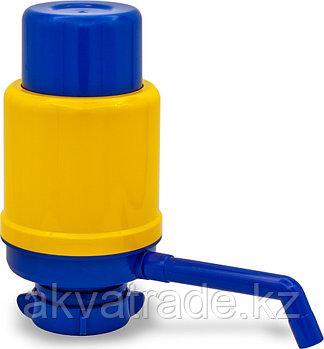 Помпа для воды Дельфин Эко желто-синяя