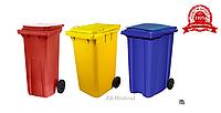 КОНТЕЙНЕРА ВНУТРИКОРПУСНЫЕ(на колёсах) для сбора, хранения и перемещения медицинских отходов, фото 1