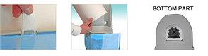 Мини-диспенсер для рулонной бумаги с центральной вытяжкой (белый), фото 2