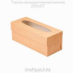 Эко-упаковка, для маффинов 3 штуки 250*100*100 DoEco (25/150)