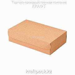Эко-упаковка, коробка для кондитерских изделий 1900мл 230*140*60 (Eco Cake 1900) DoEco (50/300)