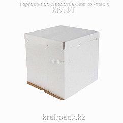 Короб картонный белый, 300*300*300 Pasticciere (10шт/уп)