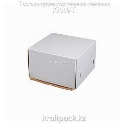 Короб картонный белый, 300*300*190 Pasticciere (10шт/уп)
