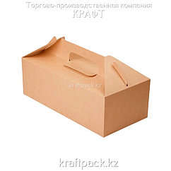 Эко-упаковка, Универсальный короб с ручками 288*142*98 (Eco Box With Handle) DoEco (25/200)