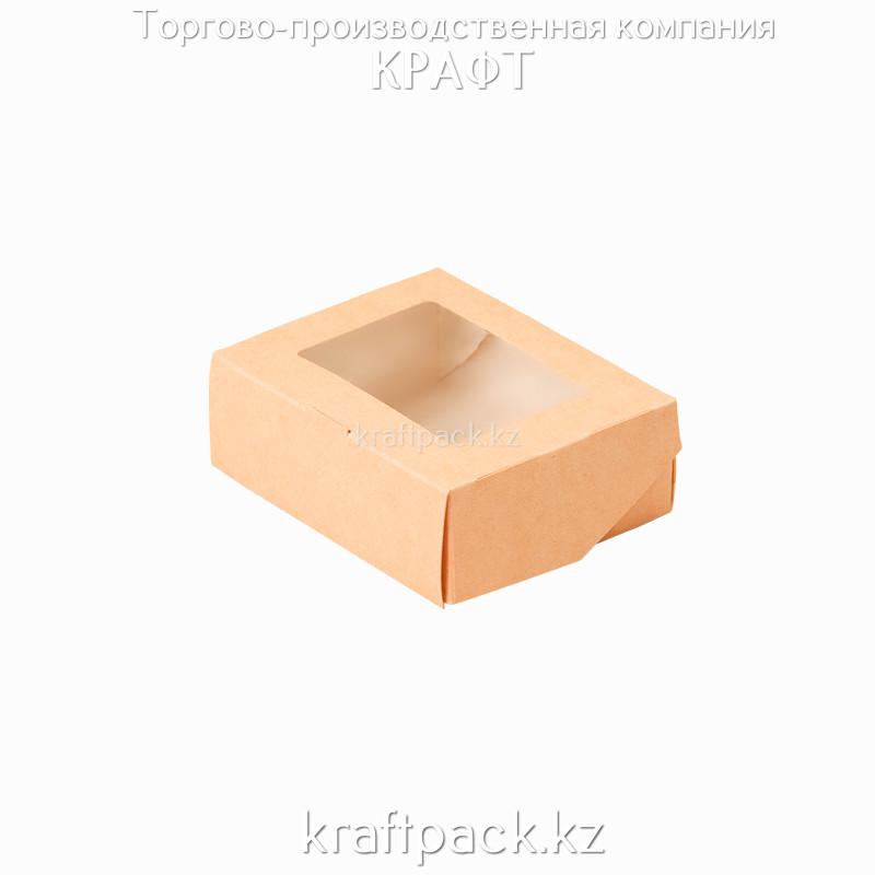 Коробка с окном 300мл 100*80*35 (Eco Tabox 300) DoEco (100/1200)