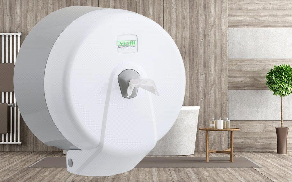 Диспенсер для туалетной бумаги Minipoint (белый)