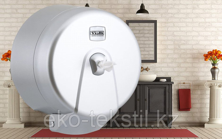 Диспенсер для туалетной бумаги Minipoint (металлик), фото 2