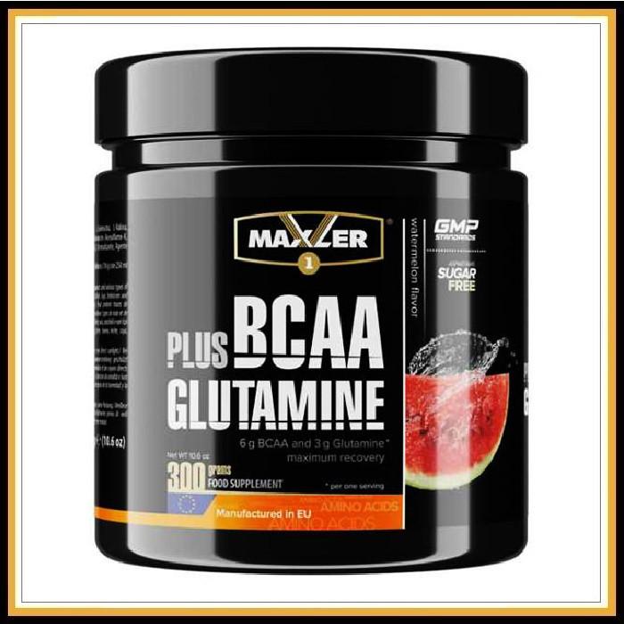 MXL BCCA+GLUTAMIN 300гр (арбуз)