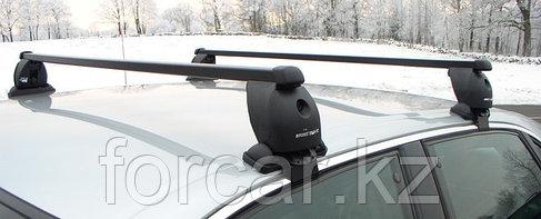Комплект поперечин (дуг)  Mont Blanc для гладкой крыши с креплением за дверной проем, фото 2