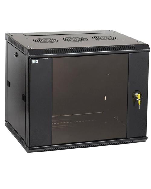 ITK LWR5-09U66-GF ITK Шкаф LINEA W 9U 600x600 мм дверь стекло, RAL9005