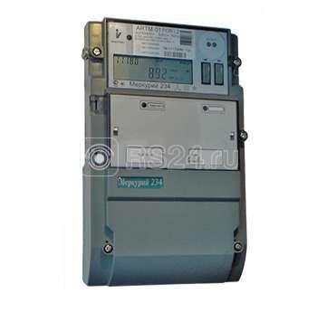 """Счетчик """"Меркурий"""" 234 ARTM2-03 PB.G 5-10А 0.2s/0.5 класс точности; многотарифный; оптопорт RS485 GSM винт (московское время)"""