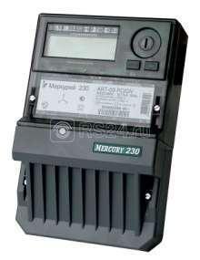 """Счетчик """"Меркурий"""" 230 ART-01 RN 5-60А 1.0/2 класс точности; многотарифный; RS485 (московское время)"""