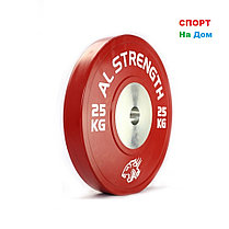 Профессиональные соревновательные блины AL STRENGTH 20 кг, фото 2