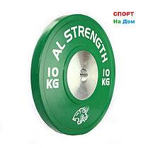 Соревновательные блины для штанги олимпийские AL STRENGTH 15 кг, фото 2