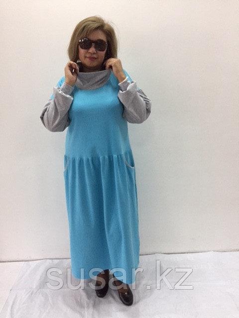 Платье дизайнерское с заниженной талией