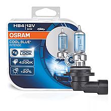 Галогеновая лампа Osram HB4 Cool Blue Intense (+20%) 4200К - 9006CBI-HCB комплект 2шт.