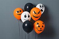 Воздушные шары на  Хэллоуин, фото 1