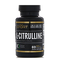 California Gold Nutrition, L-Citrulline, 60 caps.
