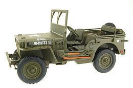 1/18 UT models Коллекционная модель военный внедорожник Jeep, зеленый