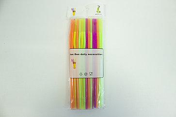 Набор трубочек 25 см 50 шт