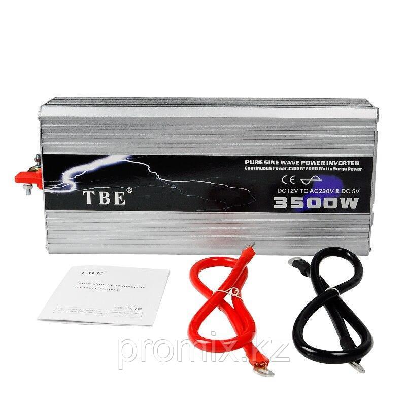 Преобразователь напряжения (инвертор) TBE, 12В/>220В, 3500Вт.