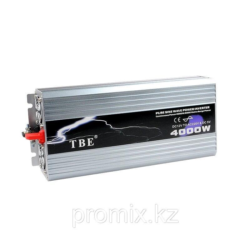 Преобразователь напряжения (инвертор) TBE, 12В/>220В, 4000Вт.