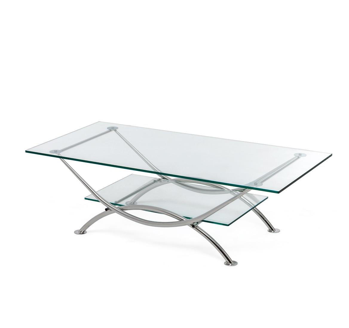 Стол кофейный ARCO clear glass