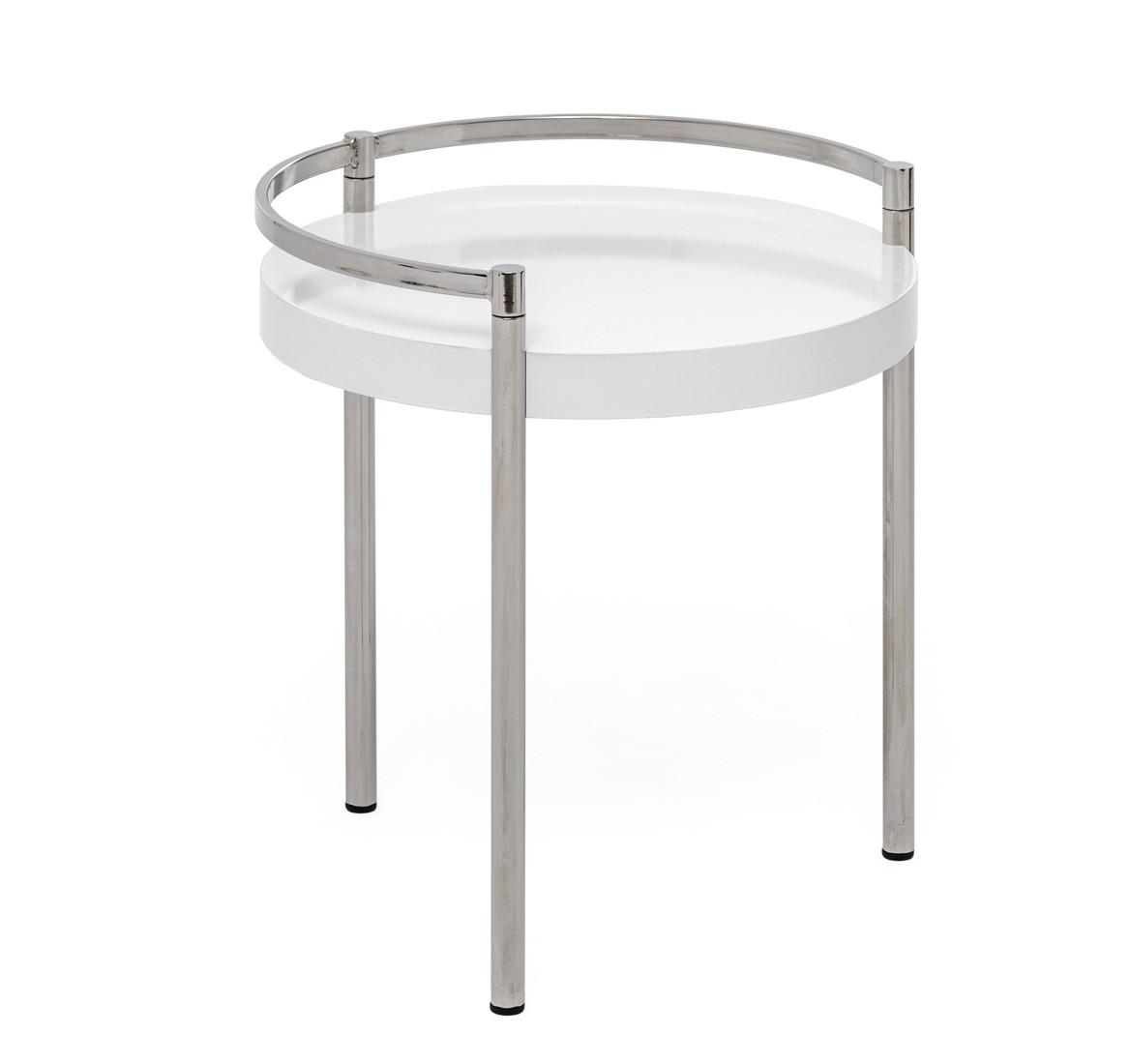 Стол кофейный TABULA 0MAR010500 01 10 / T Белый