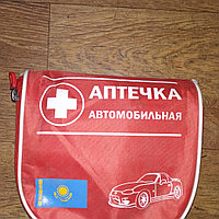 Автомобильная аптечка красный футляр