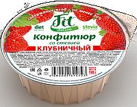 Конфитюр FitDelice клубничный со стевией