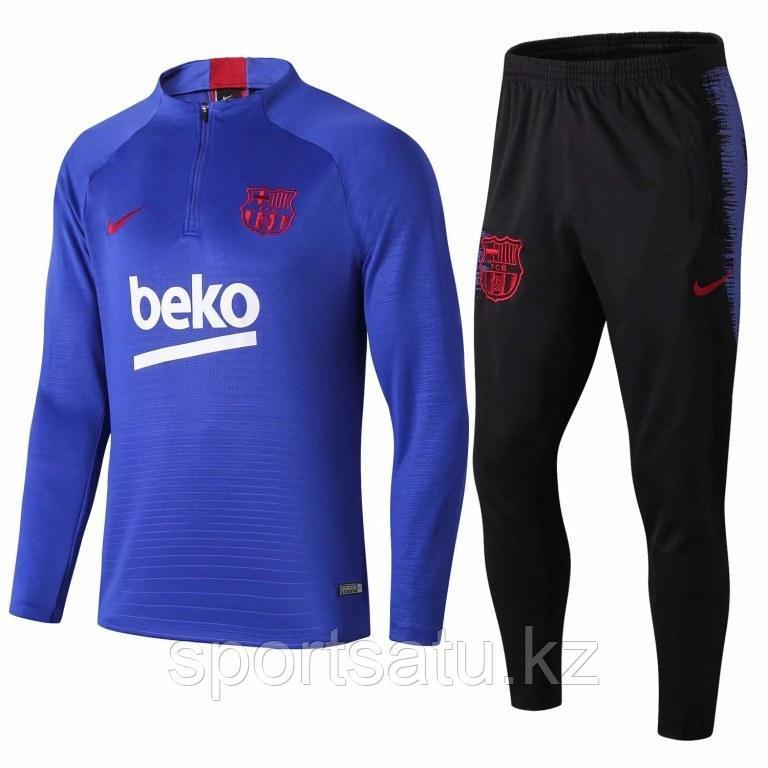Барселона тренировочный костюм детский 2019/20