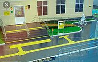 Монтаж тактильной плитки бетон, полиуретан, ПВХ