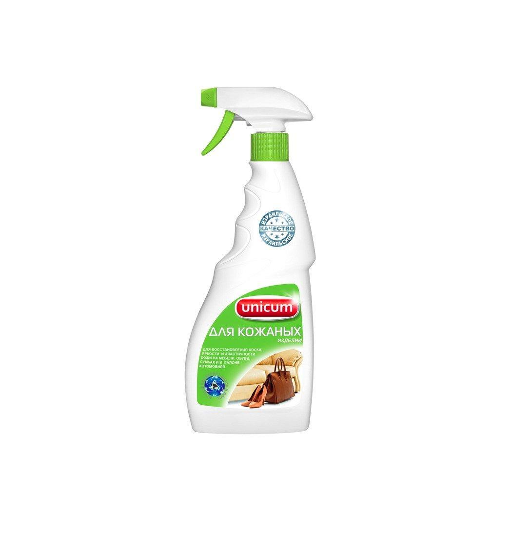 Средство для чистки и ухода за изделиями из кожи 500 мл, UNICUM
