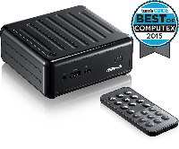 "Мини-ПК ASRock BEEBOX J3160/B/BB Quad-Core J3160 (до 2.24 GHz), 2xSO-DIMM DDR3, 1xmSATA, 1x2.5""SATA, 802.11ac, фото 1"