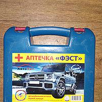 Автомобильная аптечка синий