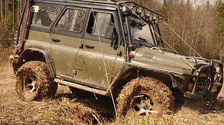 Усиленная подвеска УАЗ 469 и Hunter