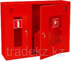 ШПК-02НОК шкаф для пожарного крана со стеклом, красный