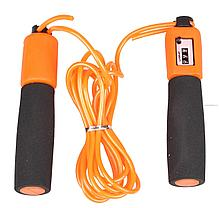 Тросовая скакалка со счетчиком прыжков Haoxin Jump Rope GF-728-1, фото 3