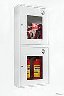 ШПК-320 НОБ шкаф для пожарного крана со стеклом, белый