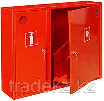 ШПК-02 НЗК шкаф для пожарного крана закрытый, красный