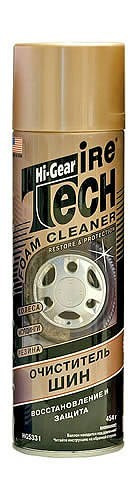 Очиститель шин. Восстановление и защита