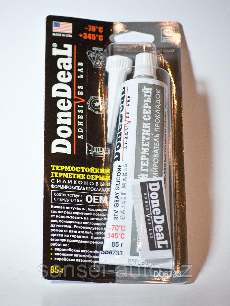 DD6733 \ Термостойкий герметик — формирователь прокладок силиконовый oem (серый), 85г