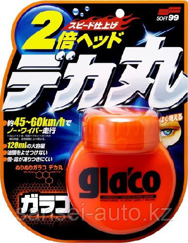 GlacoRollOnLarge - Водоотталкивающая полироль для стекла